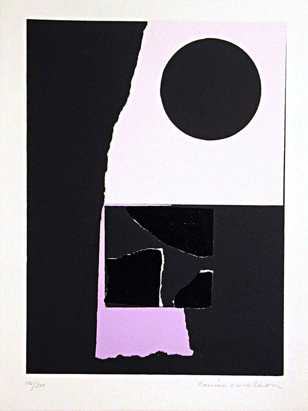 main work - Louise Nevelson, Untitled, from the New York Portfolio for Stockholm