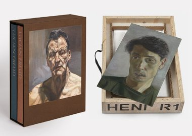 Lucian Freud - John Minton and Phaidon's 2-volume set