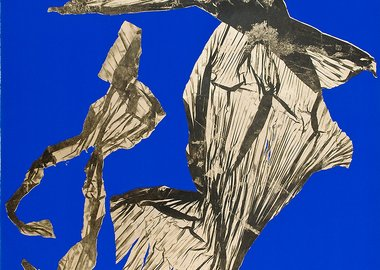 Lynda Benglis - Dual Natures Small (Blue)