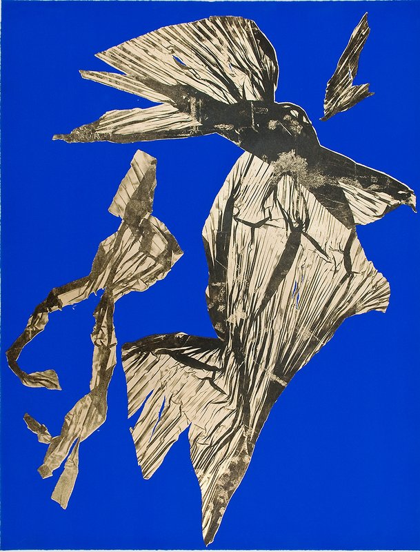 Lynda Benglis - Dual Natures Small (Blue) for Sale | Artspace