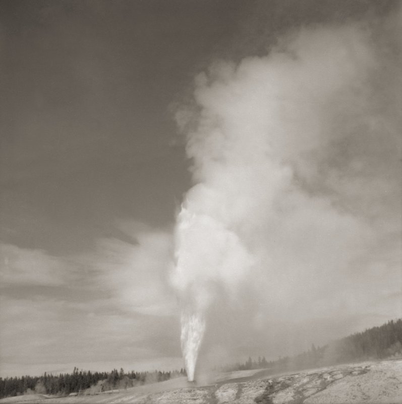 main work - Lynn Davis, Beehive Geyser, Yosemite National Park, 1990