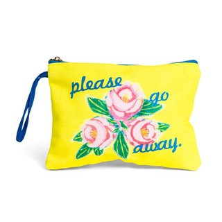 Please Go Away Clutch art for sale