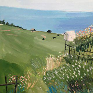 Countryside View art for sale