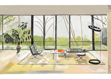 Maira Kalman - People Who Live in Glass Houses...