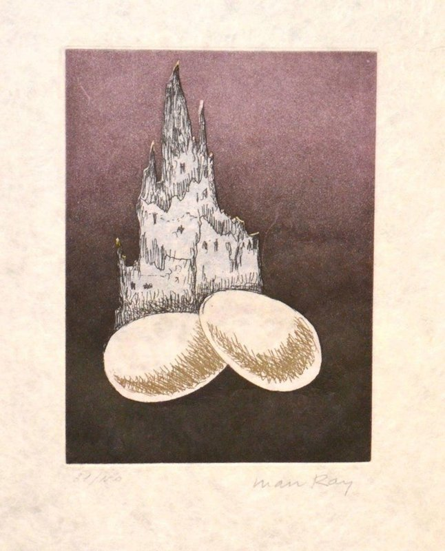 Man Ray - Une Cathédrale for Sale | Artspace