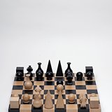 Man Ray, Wood Chess Set -