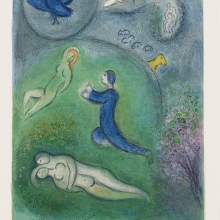 Marc Chagall, Daphnis et Lycenion
