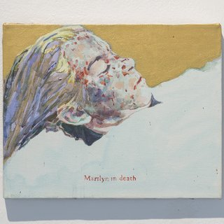 Marilyn in Death (icon) art for sale