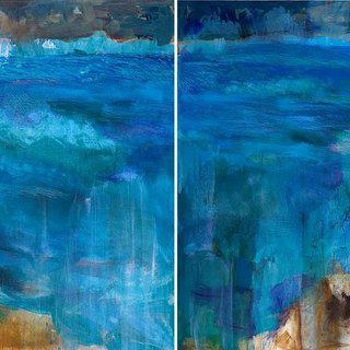 Springs (Diptych) art for sale