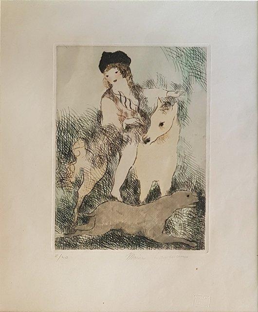 8b51b18217 Marie Laurencin - La Promenade à Cheval, Print