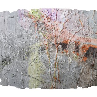 Cracked Glass rug art for sale