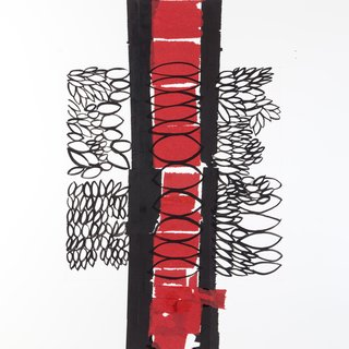 Red Strip art for sale