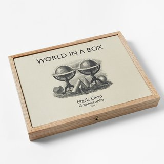 World in a Box art for sale