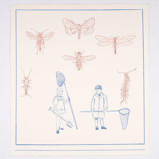The Young Entomologists art for sale
