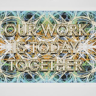 Mark Titchner, Study for Sceaux Gardens TRA Hall