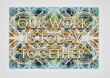 Mark Titchner - Study for Sceaux Gardens TRA Hall