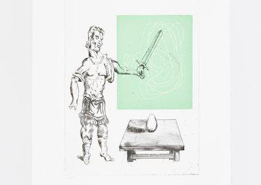 work by Martin Kippenberger - der Eierman