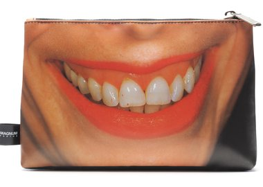 work by Martin Parr - Tarpaulin pouch