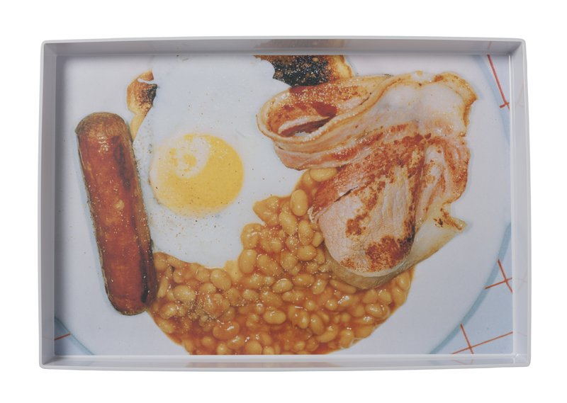 by martin_parr - English Breakfast Tray