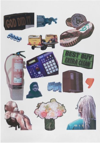 Martine Syms - Threat Model Official Sticker Collection, Print
