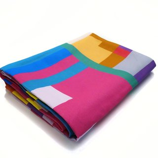 Colorful Cotton Throw art for sale