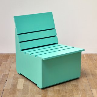 Sunny Chair for Whitechapel (mint) art for sale