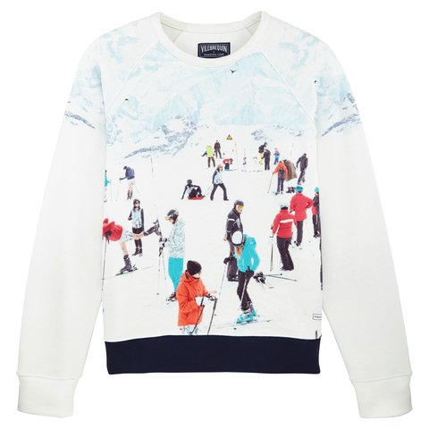 Massimo Vitali - The Slopes of Flaine Sweatshirt, Design and Decorative Arts