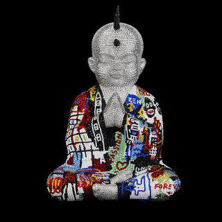 "PUNKBUDDHA MEDIUM ""FOREVER AND A DAY"" FEAT. BASQUIAT art for sale"