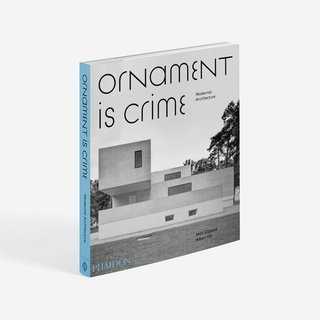 Ornament is Crime - Modernist Architecture art for sale