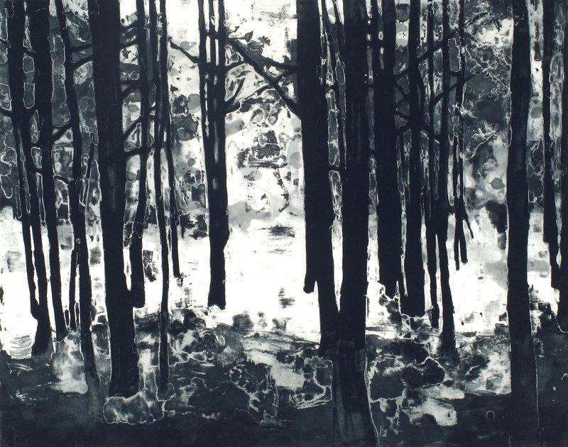 Matt saunders landscape iii bright forest for sale artspace fandeluxe Gallery
