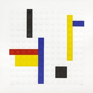 L'Ego Mondrian art for sale