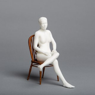 Seated Nude art for sale