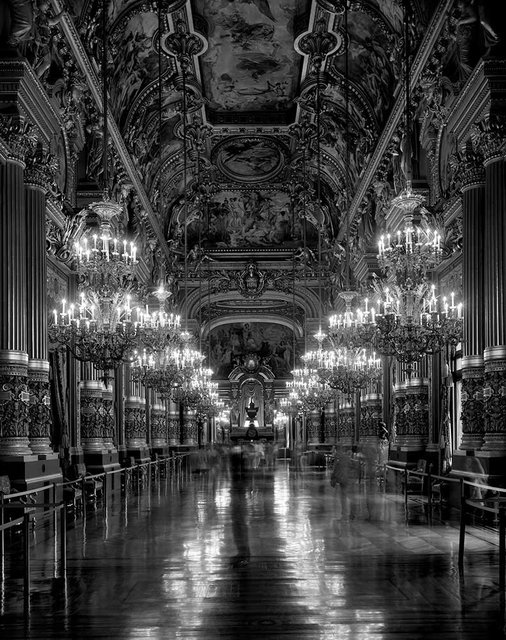Matthew Pillsbury, Le Grand Foyer, Opera de Paris, Palais Garnier