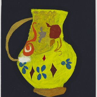 Yellow Jug art for sale