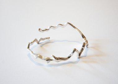 work by Maya Lin - Colorado River (Sterling Silver)