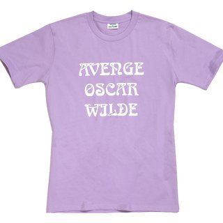 'Avenge Oscar Wilde' T-Shirt art for sale