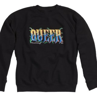'Queer' Sweatshirt art for sale