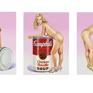 Campbell`s Soup Blondes art for sale