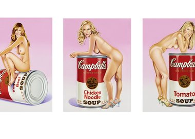 Mel Ramos - Campbell`s Soup Blondes