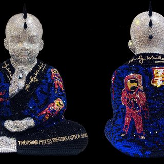 PUNKBUDDHA MOONWALK feat. WARHOL art for sale