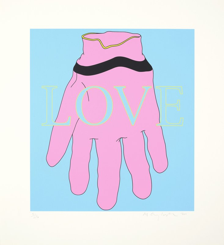 by michael_craig_martin - Love/Glove