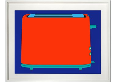 work by Michael Craig-Martin - Toaster