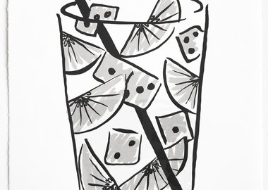 Michael Dopp - Marfa Cocktails - Dice (Ranch Water)