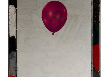 work by Michelangelo Pistoletto - Olympic Balloon
