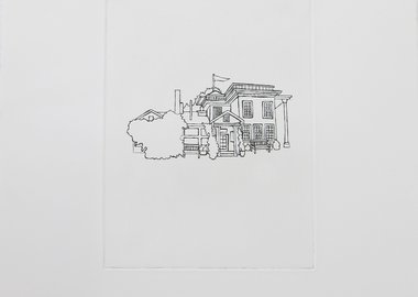 work by Michelle Vaughan - Cruden Farm from the Seven Residences of Rupert...