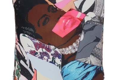 work by Mickalene Thomas - Clarivel Centered
