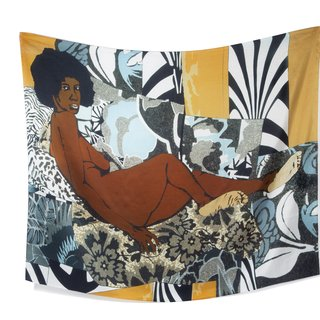 Mickalene Thomas, A Little Taste Outside Of Love Scarf art for sale