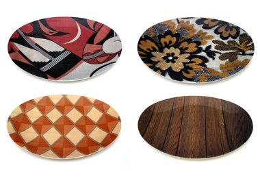 work by Mickalene Thomas - Tray Set
