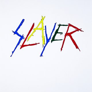 Slayer in Google Colors art for sale