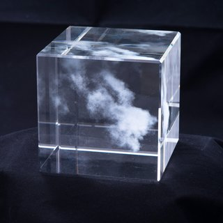Kumo (Cloud) for The Glass House (Shizen) Nature Series art for sale